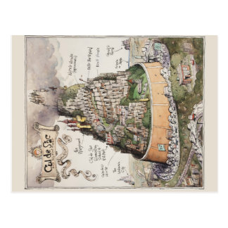 Cul de Sac and Adjacent Places by Richard Thompson Post Cards