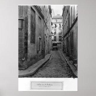 Cul-de-sac Saint-Ambroise Poster
