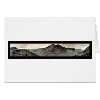Culebra Cut Panama Photo 1909 Card