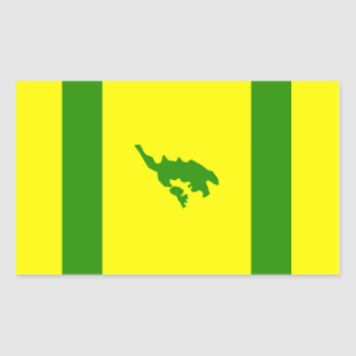 Culebra Flag Rectangular Sticker