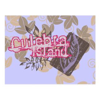 Culebra Island Graphic Tshirts and Gifts Postcard