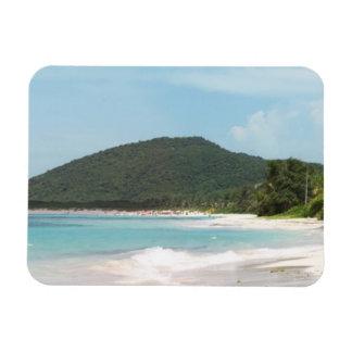 Culebra's Flamenco Beach Puerto Rico Magnet