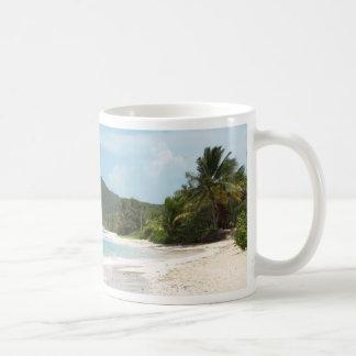Culebra's Flamenco Beach Puerto Rico Classic White Coffee Mug