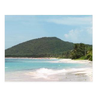 Culebra's Flamenco Beach Puerto Rico Postcard