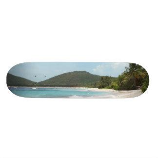 Culebra's Flamenco Beach Puerto Rico Skateboard