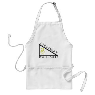 Culinarily Inclined Adult Apron