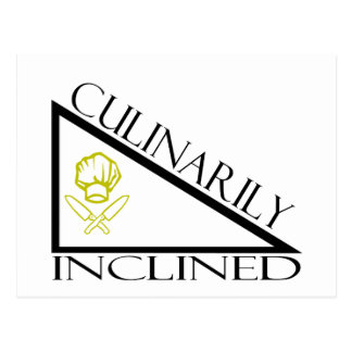 Culinarily Inclined Postcard