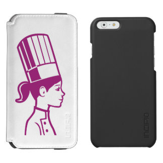 Culinary Baker Cake Decorator Chef iPhone 6/6s Wallet Case