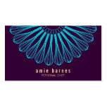 Culinary Chef Blue Whisk Logo Purple Catering Double-Sided Standard Business Cards (Pack Of 100)