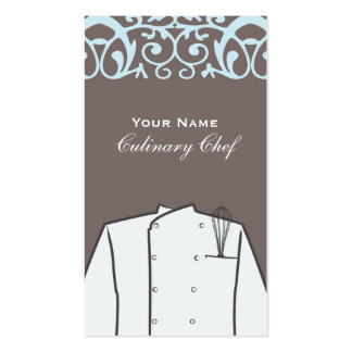 Culinary Chef Business Card