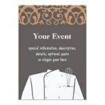 """Culinary Chef Invitation 5"""" X 7"""" Invitation Card"""