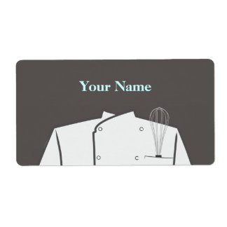 Culinary Chef Label Shipping Label