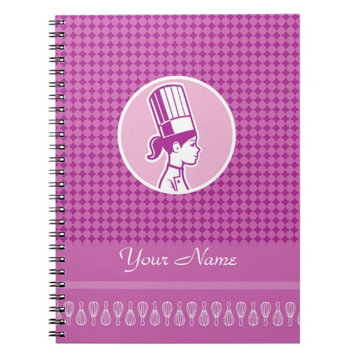 Culinary Classes Personalized Notebook