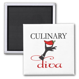 Culinary Diva Magnet