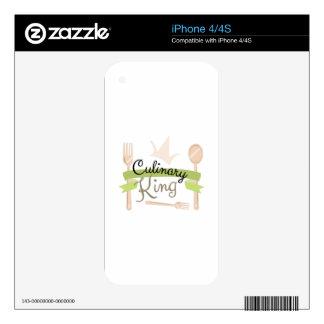 Culinary King iPhone 4 Skins