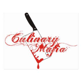 Culinary Mafia Postcard