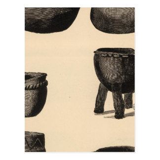 Culinary pottery from Zuni Postcard