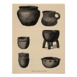 Culinary pottery from Zuni Poster