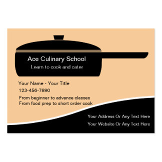 Culinary School Business Cards