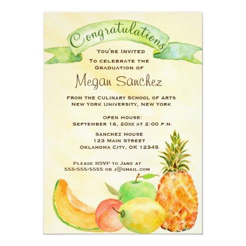 Culinary School Graduation Card