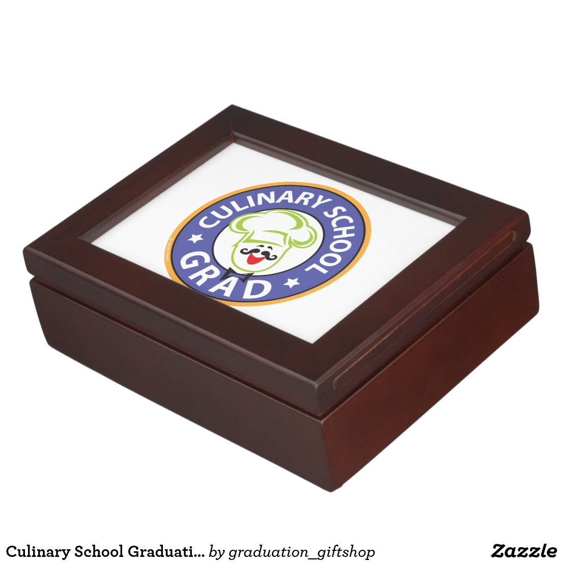 Culinary School Graduation Keepsake Box