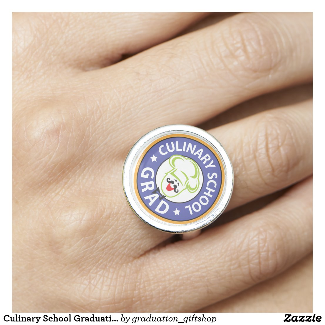 Culinary School Graduation Ring
