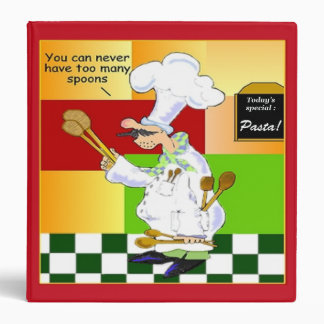 Culinary School Recipe Binder