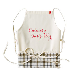 Culinary Teacher Kitchen Apron Personalized
