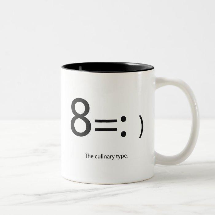 "culinary ""type"" mug"