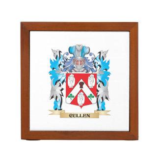 Cullen Coat of Arms - Family Crest Desk Organizer