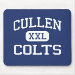 Cullen Colts Middle Corpus Christi Texas Mouse Pads