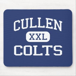 Cullen Colts Middle Corpus Christi Texas Mouse Pad