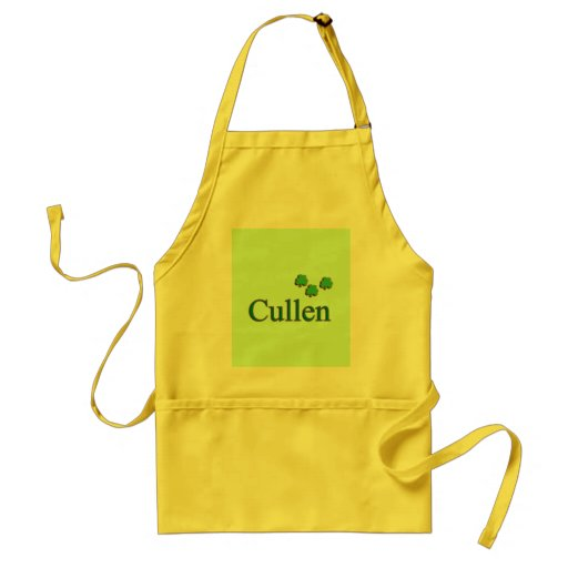 Cullen Family Adult Apron