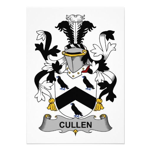 Cullen Family Crest Cards