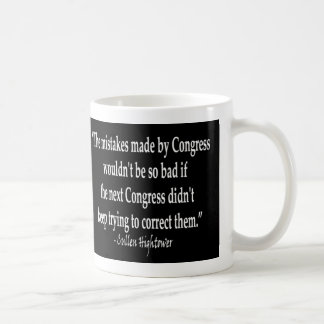 Cullen Hightower - Congressional Mistakes Classic White Coffee Mug