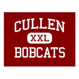 Cullen - linces - escuela secundaria - Houston Tej Postal