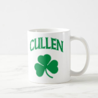 Cullen Shamrock Classic White Coffee Mug