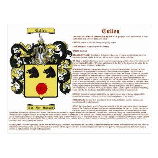 Cullen significado Escocia Postal