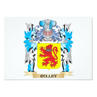 Culley Coat of Arms - Family Crest 5x7 Paper Invitation Card
