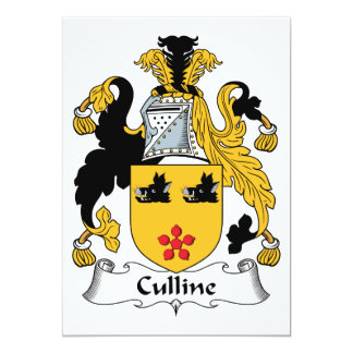 Culline Family Crest Card