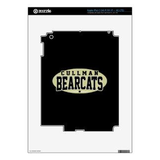 Cullman High School; Bearcats Skins For iPad 3