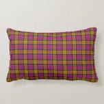 Culloden District Tartan Lumbar Cushion Throw Pillows