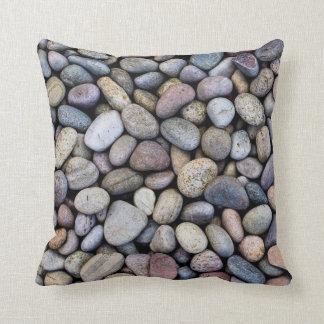 Culloden Moor Pebbles Throw Pillow