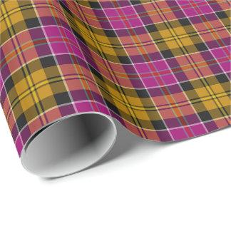 Culloden Scotland District Tartan Wrapping Paper