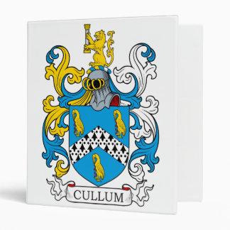 Cullum Family Crest 3 Ring Binders