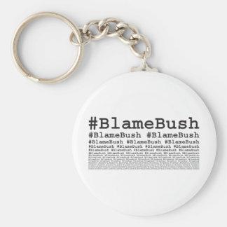 Culpa Bush Llaveros Personalizados