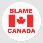 Culpa Canadá Pegatinas