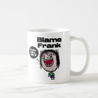 Culpa Frank Tazas De Café