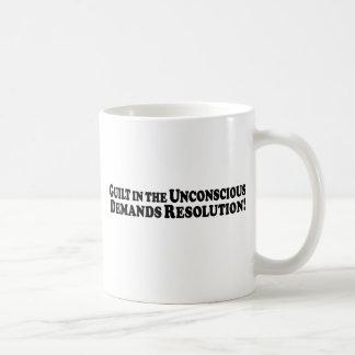 Culpabilidad en el inconsciente - básico taza de café