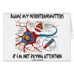 Culpe mis neurotransmisores si no que prestan la a tarjetas